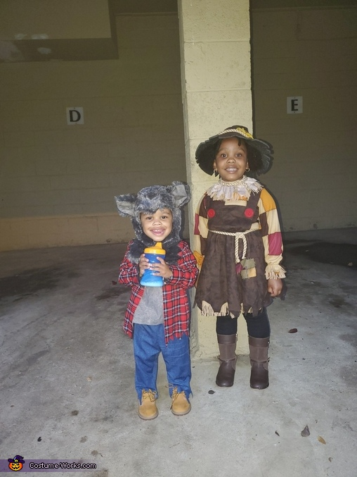 Pretty Scarecrow Costume