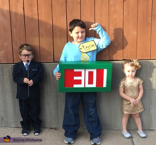 Price Is Right Homemade Costume