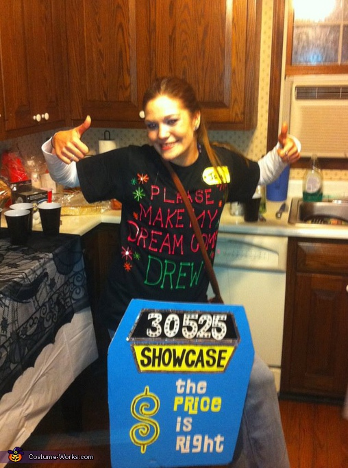 Price is Right Contestant - Homemade costumes for women