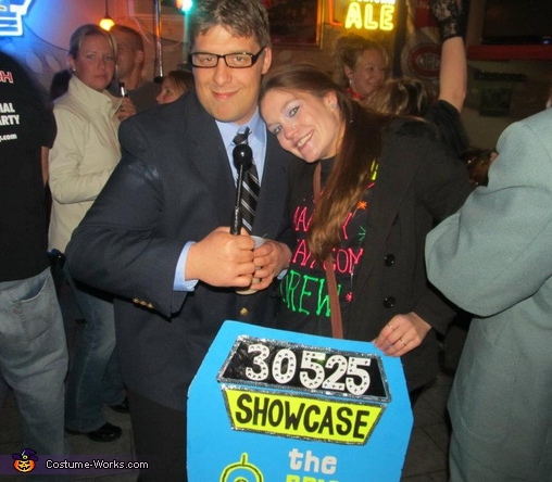Price Is Right Contestant and Host (Drew Carey), The Price is Right Contestant Costume