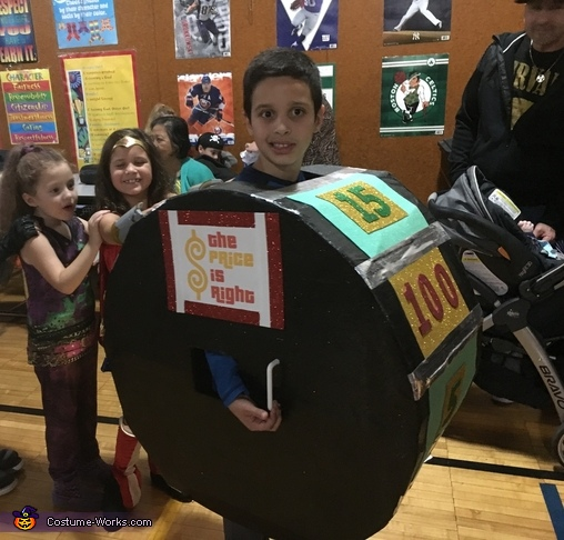 Price is Right Spin Wheel Costume