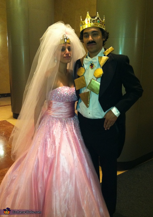 Prince Akeem and Lisa McDowell Costume