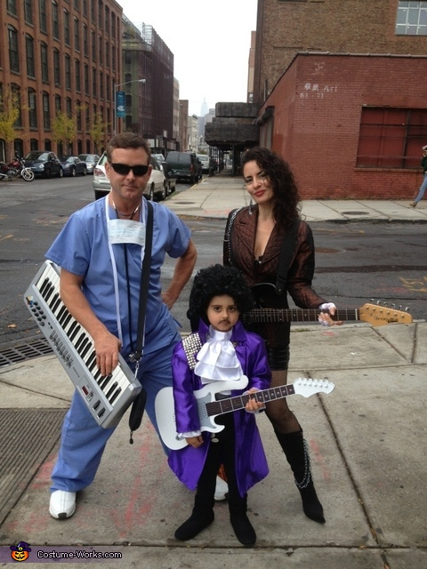 Prince and The Revolution Family Costume