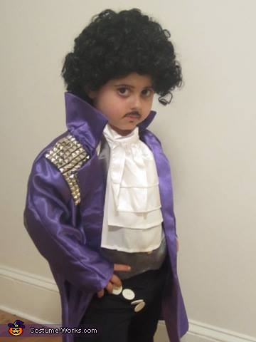 My name is Prince and I am funky...., Prince and The Revolution Family Costume