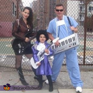 80's style, Prince and The Revolution Family Costume