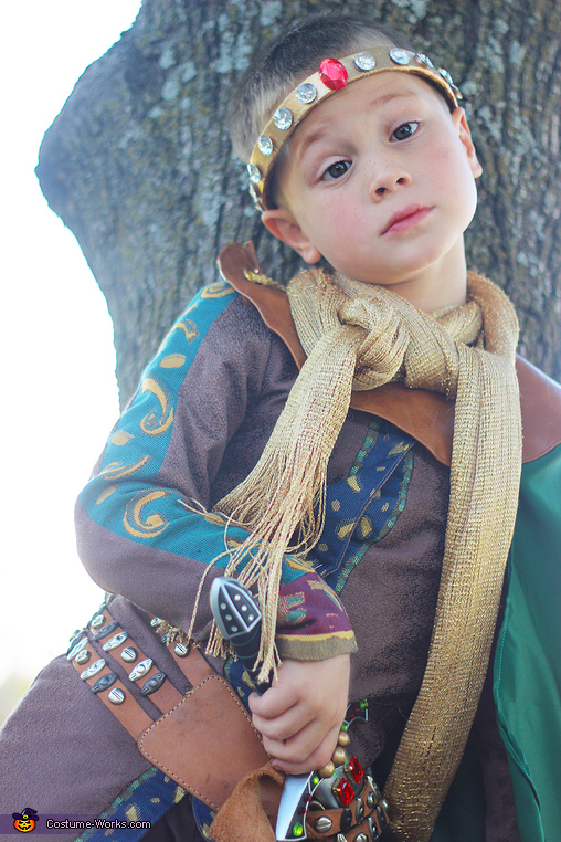 Peasants are at the gate, you say?, Prince Arthur and Morgan le Fay Costume