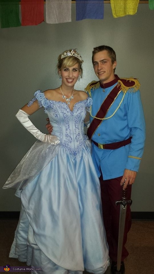 Prince Charming and Cinderella Costume