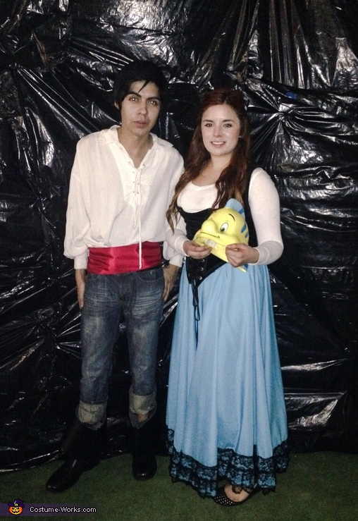 Prince Eric and Ariel Costume