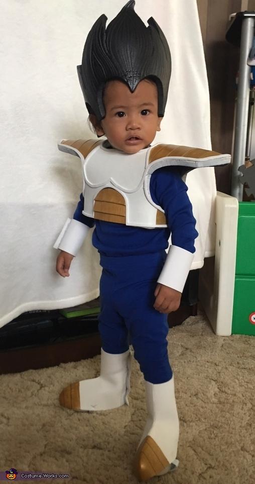 Prince of Saiyans, Vegeta Costume