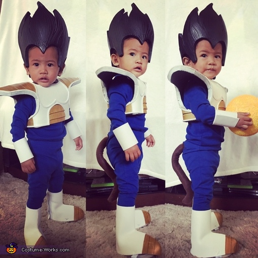 Prince of Saiyans, Vegeta Homemade Costume