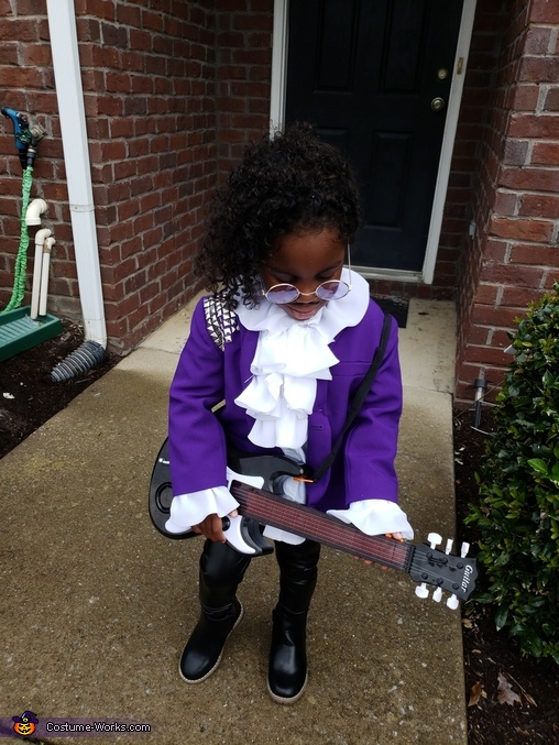 Prince Purple Rain Homemade Costume