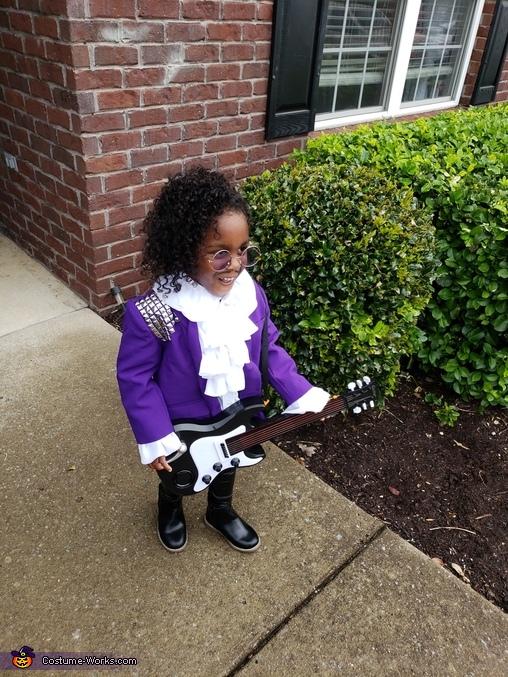 Prince Purple Rain Homemade Costume