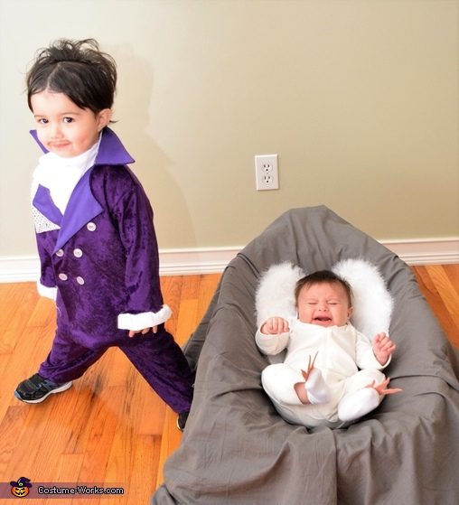 Prince and When Doves Cry, Prince, Purple Rain & When Doves Cry Costume