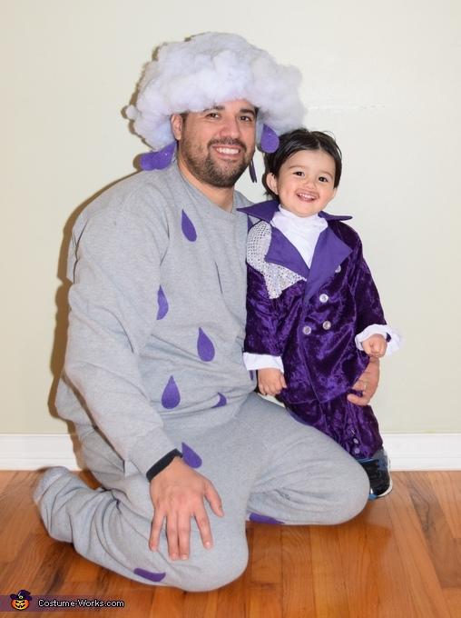 Prince with Purple Rain daddy, Prince, Purple Rain & When Doves Cry Costume