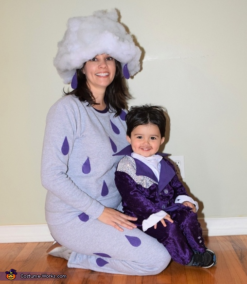 Prince with Purple Rain mommy, Prince, Purple Rain & When Doves Cry Costume