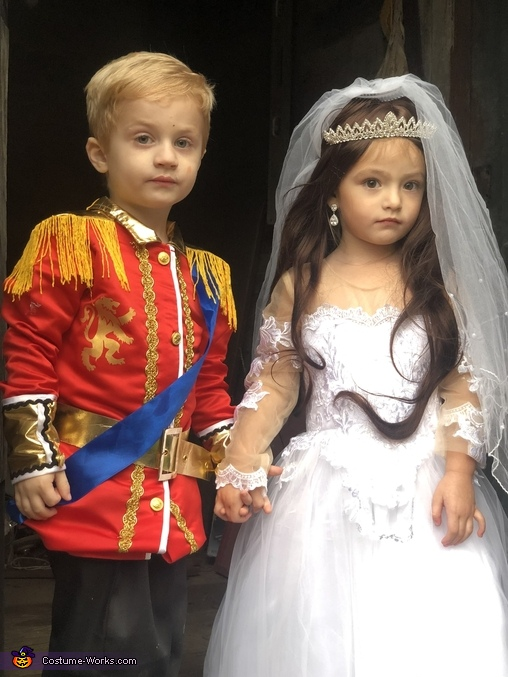 Prince William and Kate Middleton Wedding Homemade Costume