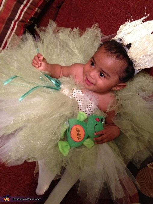Princess and the Frog Homemade Costume