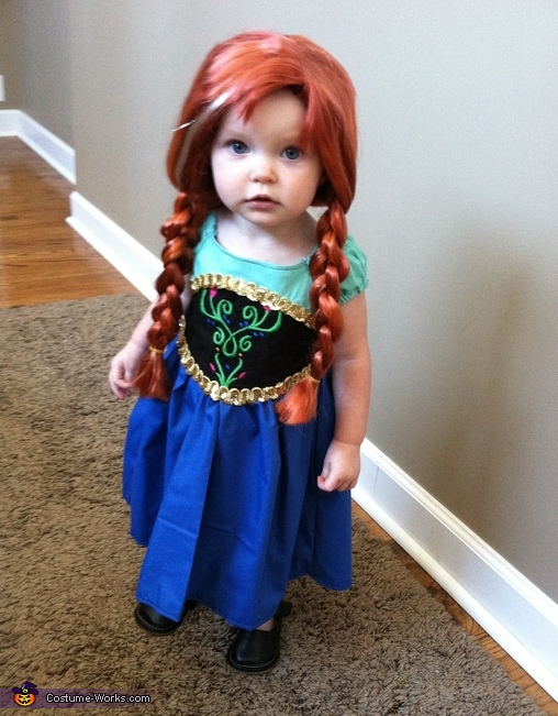 Princess Anna of Arendelle Baby Costume