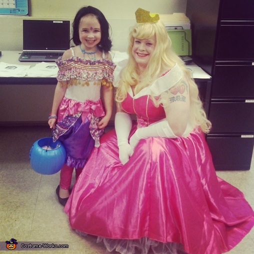 I had many of the little girls in awe of me. <3, Sleeping Beauty Princess Aurora Costume