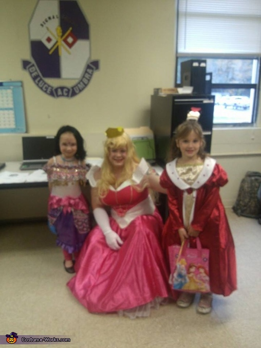 another super cute pic. , Sleeping Beauty Princess Aurora Costume