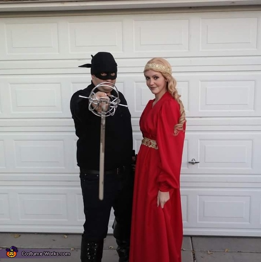 Just Buttercup and Wesley, Princess Bride Costume