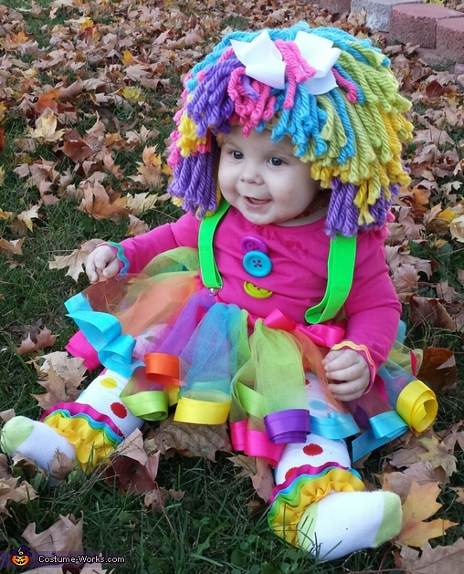 Princess Clown Baby Costume