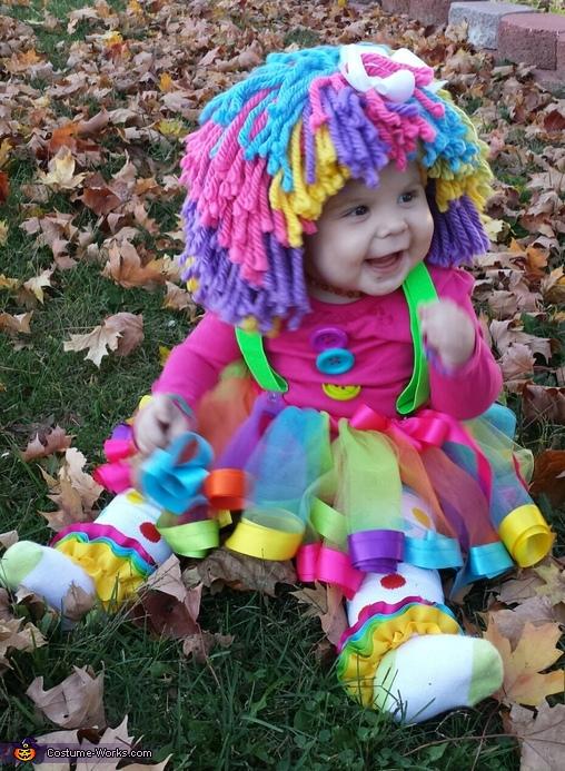 melting hearts, Princess Clown Baby Costume