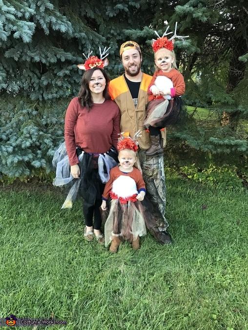 Family costume, Princess Deer Costume