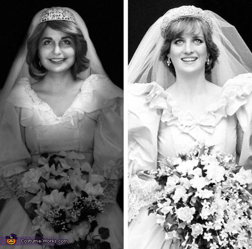 Princess Diana Bride Costume