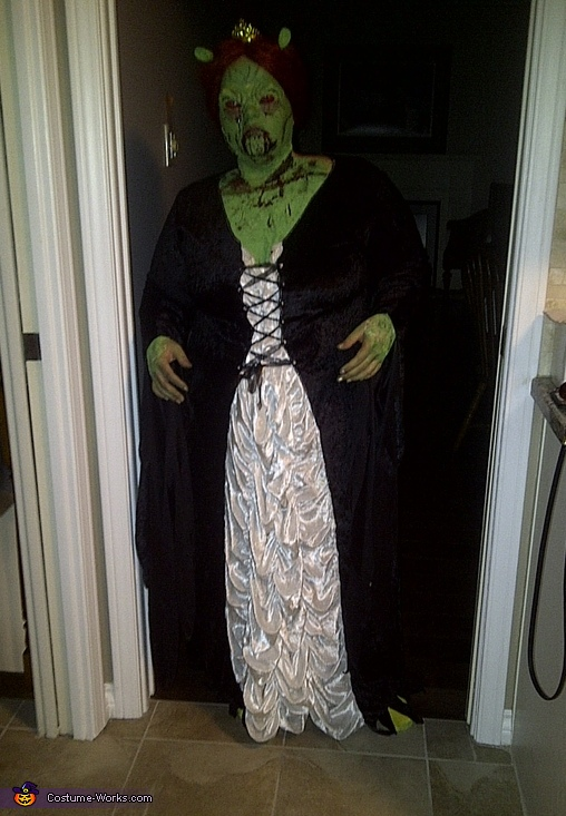Princess Fiona Zombie - Homemade costumes for women