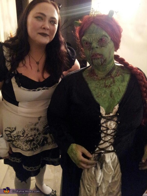 Zombie Fiona and Dead Alice, Princess Fiona Zombie Costume