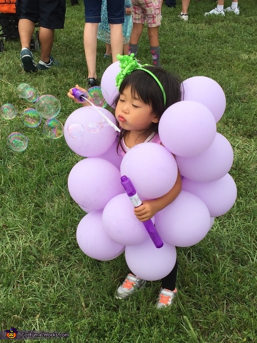 Princess Grape Costume