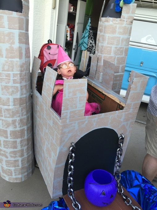 Princess in the Castle Homemade Costume