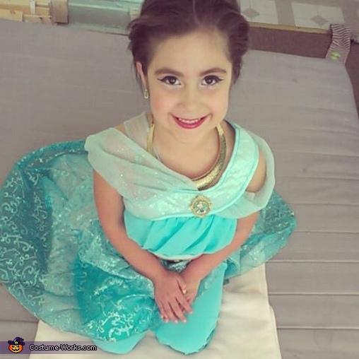 everyday is princess day, Princess Jasmin Costume