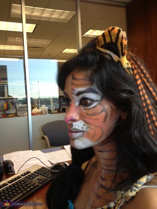 Tiger 1/2, Princess Jasmin and Tiger Costume