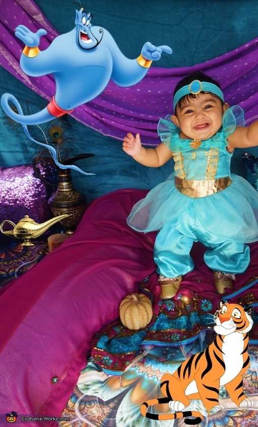 Princess Jasmine Homemade Costume
