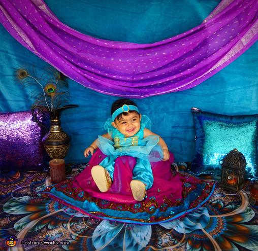 Princess Jasmine Homemade Costume
