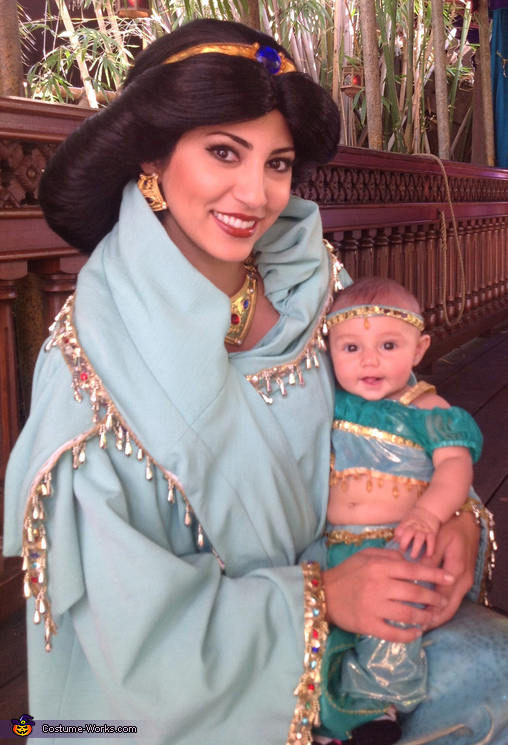 Princess Jasmine Costumes  sc 1 st  Costume Works : mom and baby costume  - Germanpascual.Com
