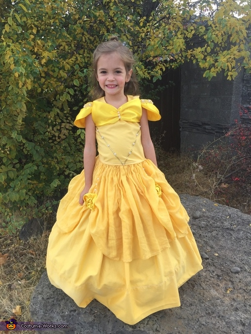 Cora as Belle, Princess Kitty Costume