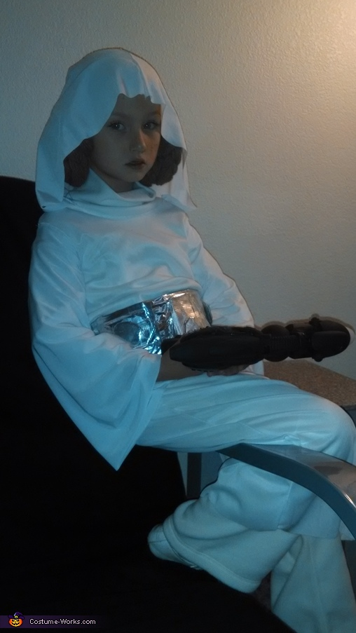 Princess Leia Homemade Costume