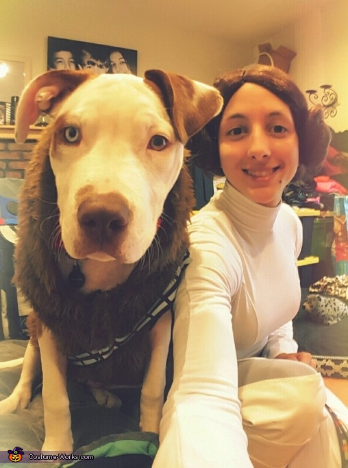 Princess Leia & Chewy Costume