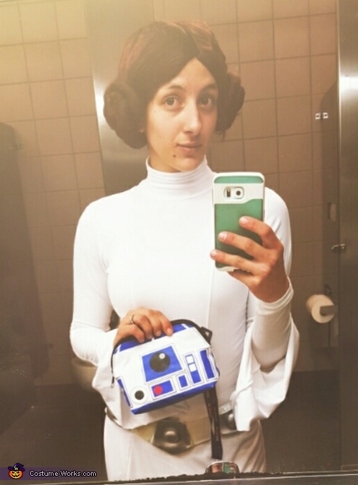 Princess Leia & Chewy Homemade Costume