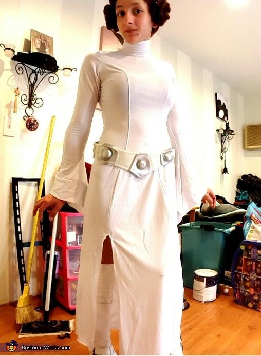 Princess Leia & Chewy Homemade Costume