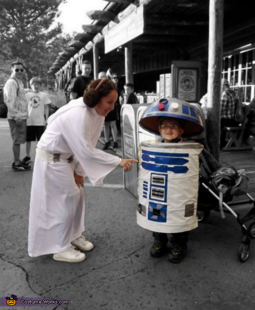 Princess Leia and R2D2 Costumes