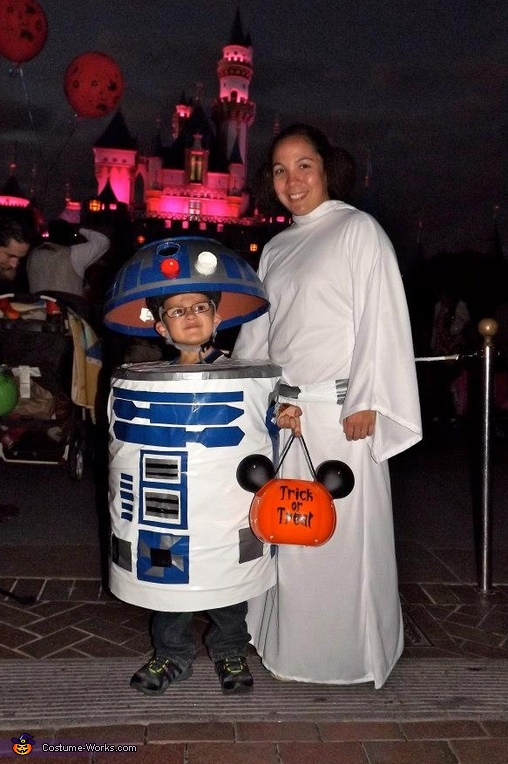 Princess Leia and R2D2, Princess Leia and R2D2 Costumes