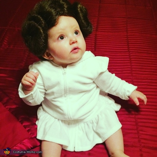 DIY Princess Leia Baby Costume