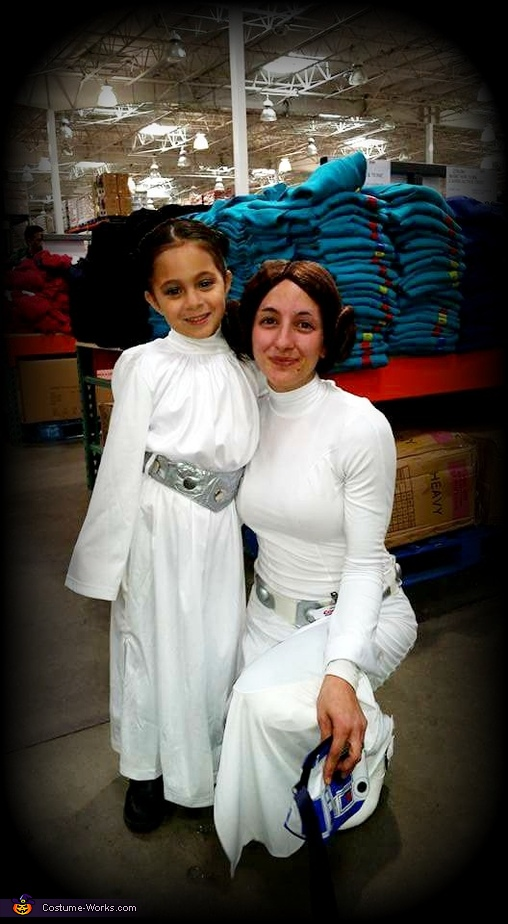 my mini me!!, Princess Leia & Chewy Costume