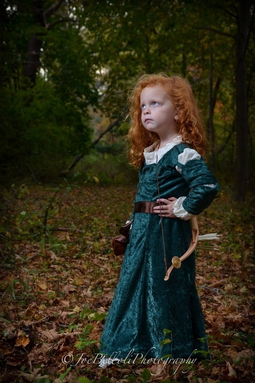 So regal, Princess Merida Costume