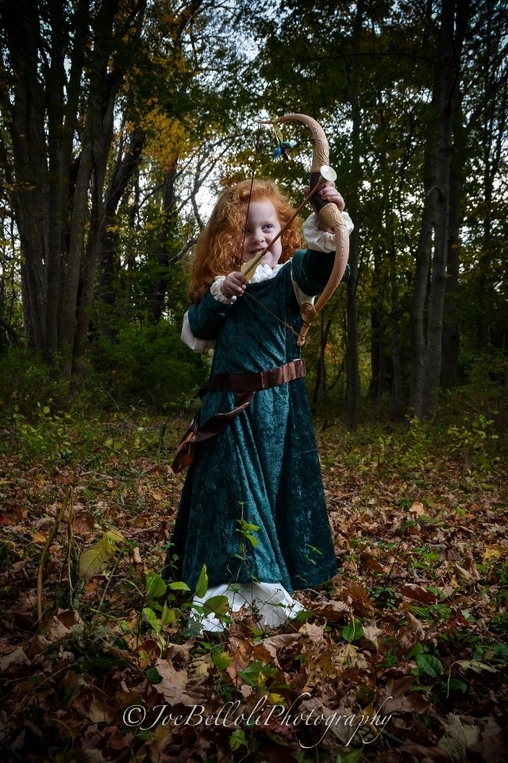Merida, Princess Merida Costume