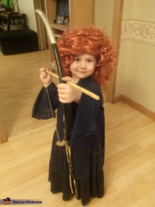 Brave Princess Merida Costume